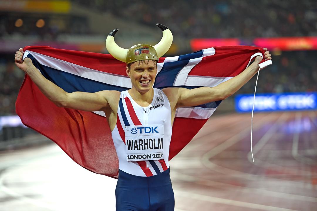 Aituritähti Warholm ennätysjahtiin Tampereella
