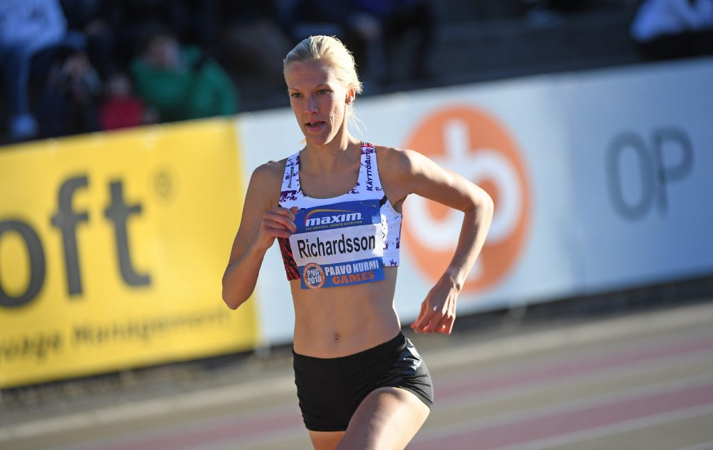 Richardsson palasi väkevästi jalkavamman tuomalta kilpailutauolta: Se oli helppo juoksu