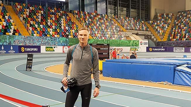 Granberg ennätysvauhdissa Istanbulissa