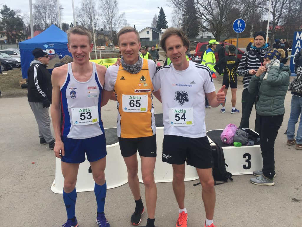 Granberg ja Hyryläinen puolimaratonin valtiaat