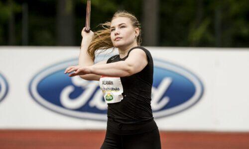 Keihäskarnevaaleille viisi kummiurheilijaa: Alanen, Valtanen, Repo, Laine ja Narvi