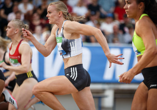 """Latvala viides Brysselin 100 metrillä: """"Hyvä lähtö, vähän yritystä liikaa lopussa"""