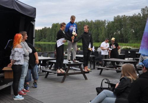 Kalle Salminen 760 Janakkalassa – Senni Salminen 13,20 Kuopiossa