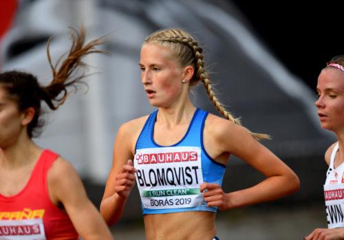 Blomqvist kiri loistojuoksulla neljänneksi Boråsissa