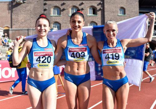 Naisten pika-aidoissa kolmoisvoitto, Pulli 810, Raitanen ja Mörö voittoihin – Ruotsi voitti molemmat maaottelut