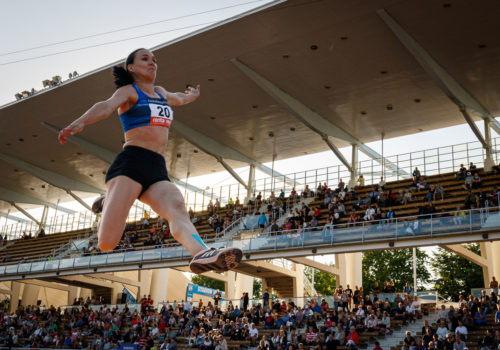 Salminen mestariksi mahtiloikalla: Juoksu kulki todella hyvin, Mattila vei korkeushypyn