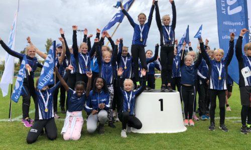 JKU, Lempäälän Kisa Yleisurheilu, Joensuun Kataja ja Laitilan Jyske seuracupin mestareiksi