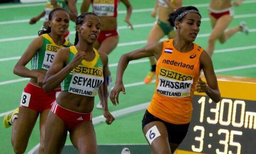 Gudaf Tsegay juoksi kauden kärkiajan 800 metrillä