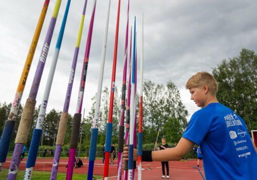 Tule mukaan pääkaupunkiseudun keihäskouluun – Tero Pitkämäki keihäskoulun vieraana 28.5.