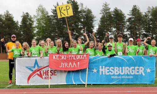 Kannustusta ja jaettua onnistumisen iloa – Keski-Palokan koulun 6XL Hese-kisafinaalin voittaja