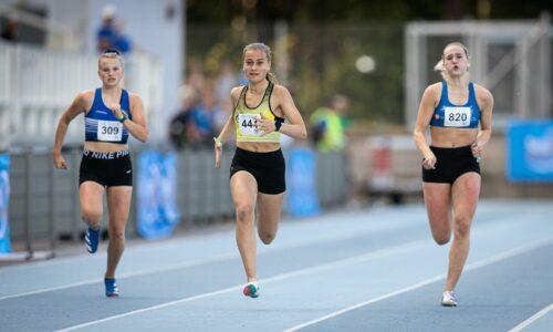 YAG: Eromäki 21,76, 15-vuotias Petrova vei 17-vuotiaiden 200 metriä, Viskari avasi ratakautensa