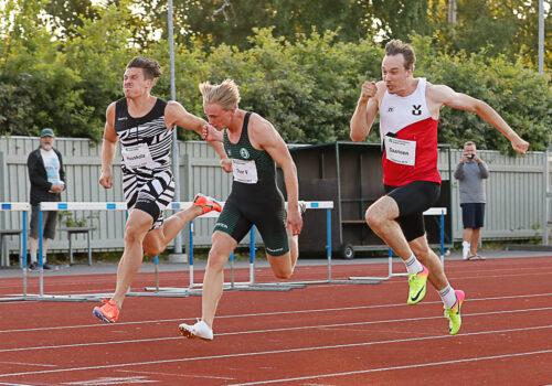 Viktor Thor pinkoi 10,41 ja Roope Saarinen alkuerissä 10,36 – Nea Mattila juoksi kahdella matkalla kaikkien aikojen seitsemänneksi