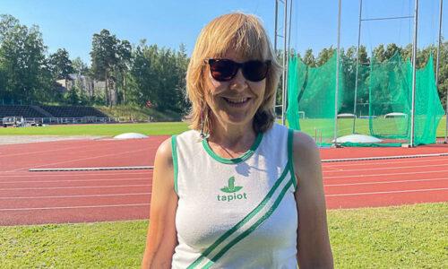 Kirsti Sysikaski on kesäkuun Fristadsin työnsankari