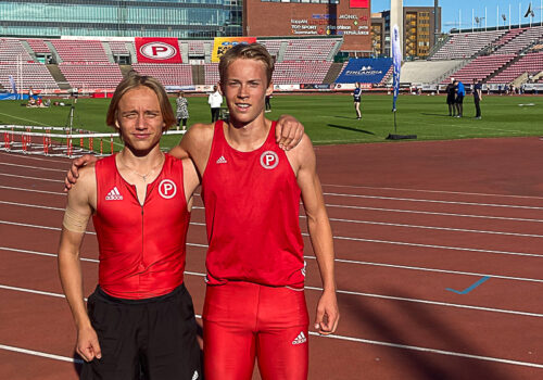 Haapalainen ja Sainio aitoivat komeat ennätykset Ratinassa